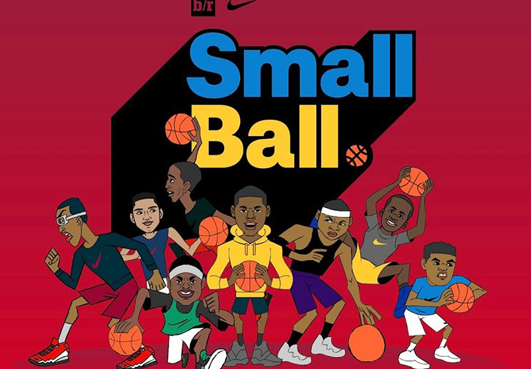 Small Ball, una serie animada sobre basquet