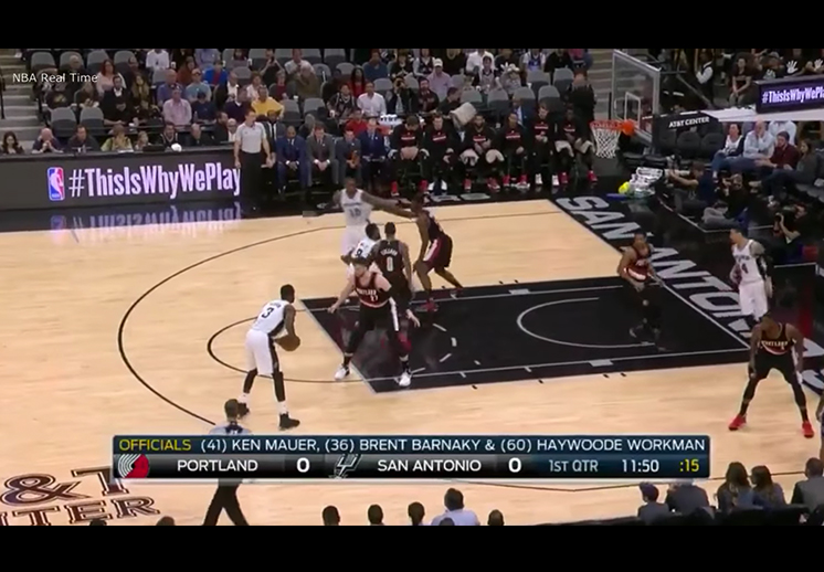 La maldición de los tiros libres cayó sobre los Spurs