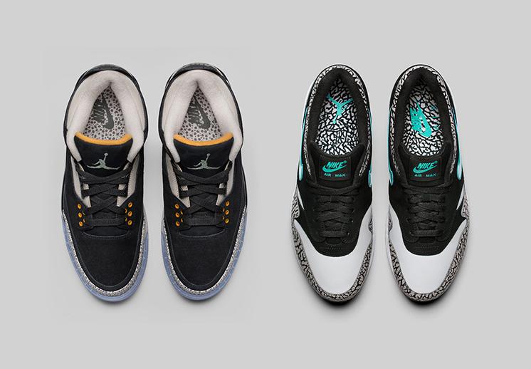 Thumbnail. Pack de Jordan x Atmos x Nike Air Max