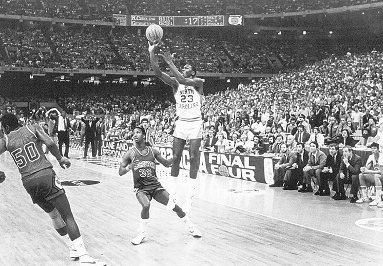 A 30 años del campeonato de UNC gracias a Jordan