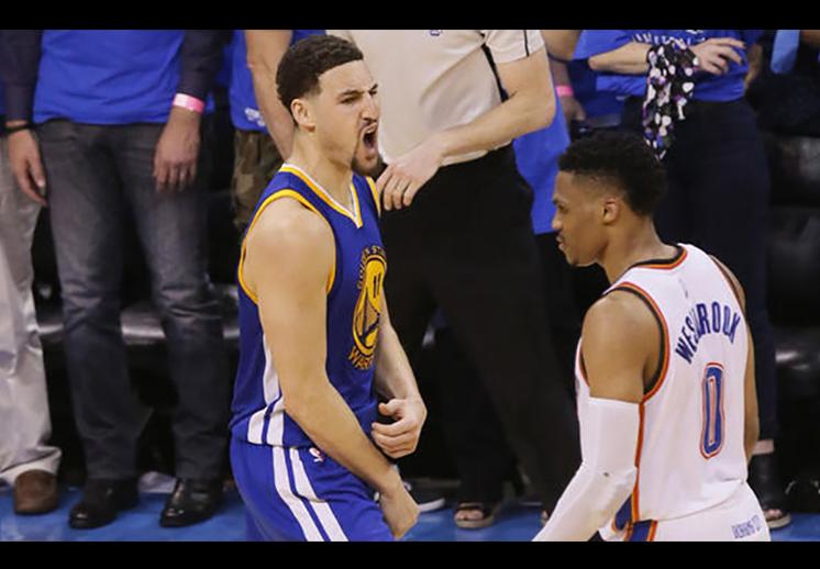 La hegemonía de los Warriors sobre el Thunder