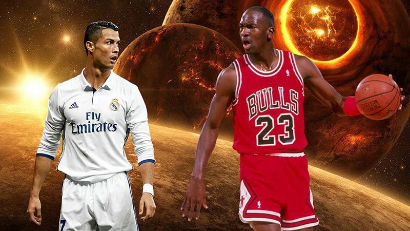 Cristiano Ronaldo, a la altura de Michael Jordan foto 2