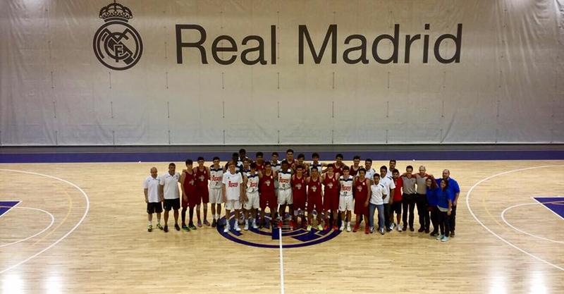 La Academia Conade enfrentó al Real Madrid FOTO 1