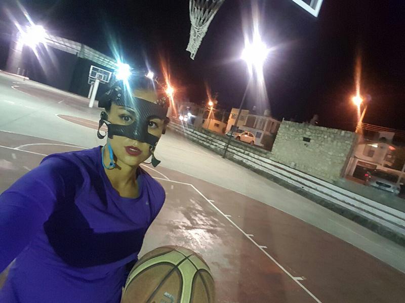 Las máscaras en el Basquet Por Diana Orozco Gollaz