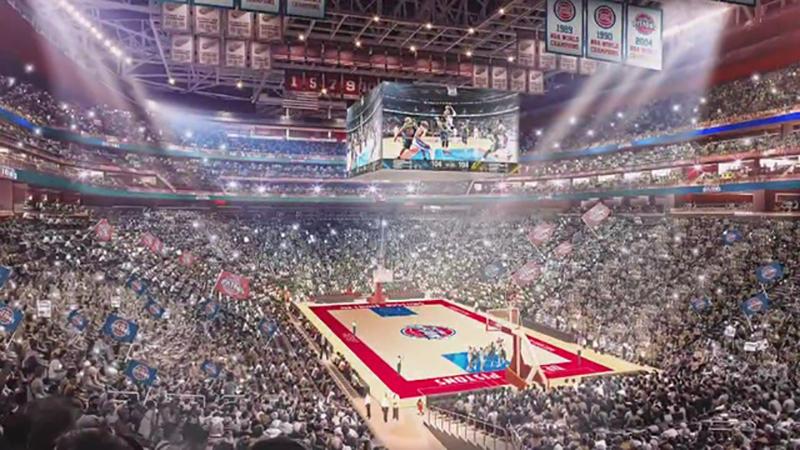 Los Pistons quieren el All-Star Game