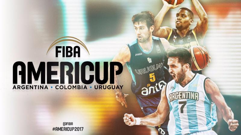 Anunciadas las sedes de la FIBA AmeriCup 2017