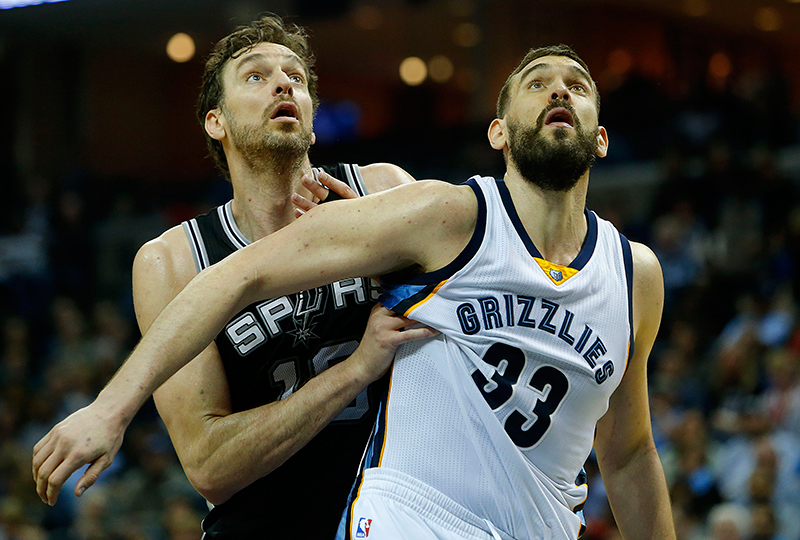 Los playoffs de los hermanos Gasol