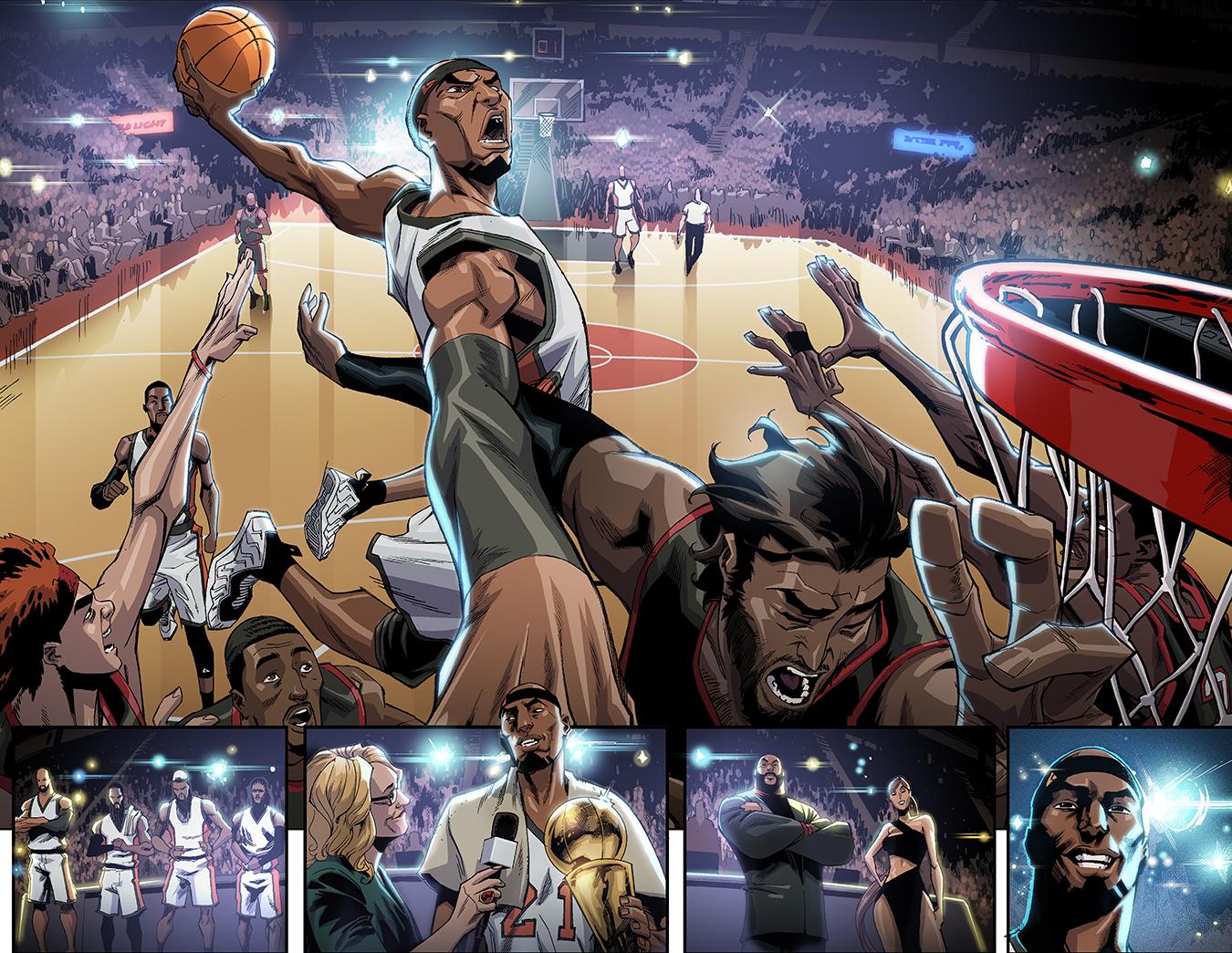 Basquetbolista y superhéroe de Marvel
