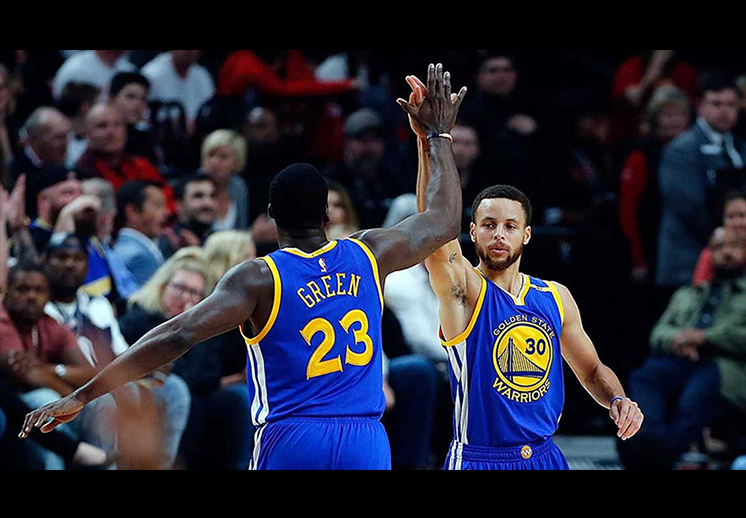 thumbnail. Los Warriors barrieron a Portland