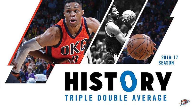 Russell Westbrook aseguró promediar un triple doble foto 2
