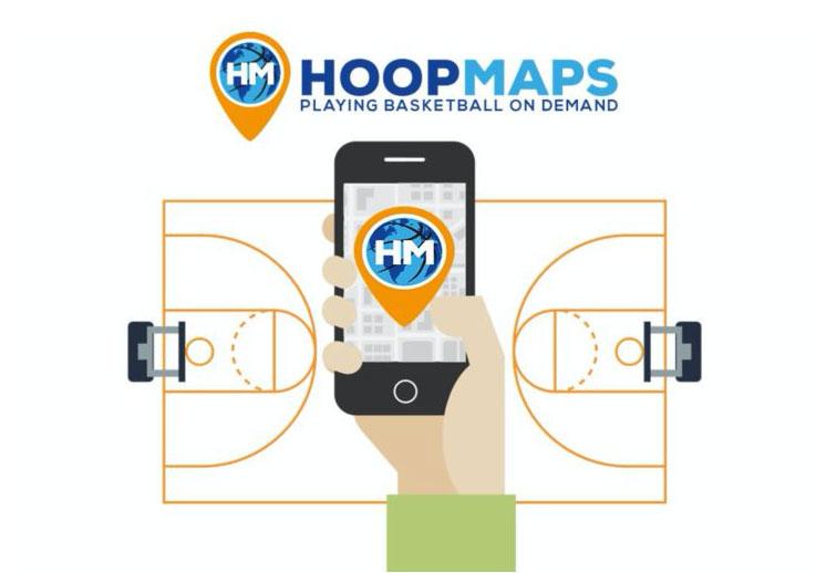 Hoops Maps, nueva App para buscar dónde jugar