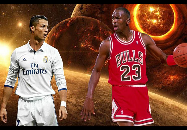 Cristiano Ronaldo, a la altura de Michael Jordan foto 3