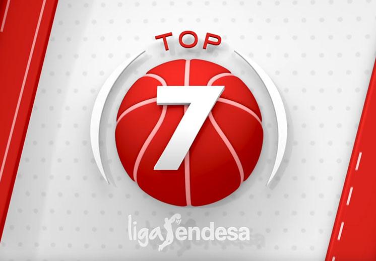 Las mejores jugadas de la jornada en la Liga Endesa