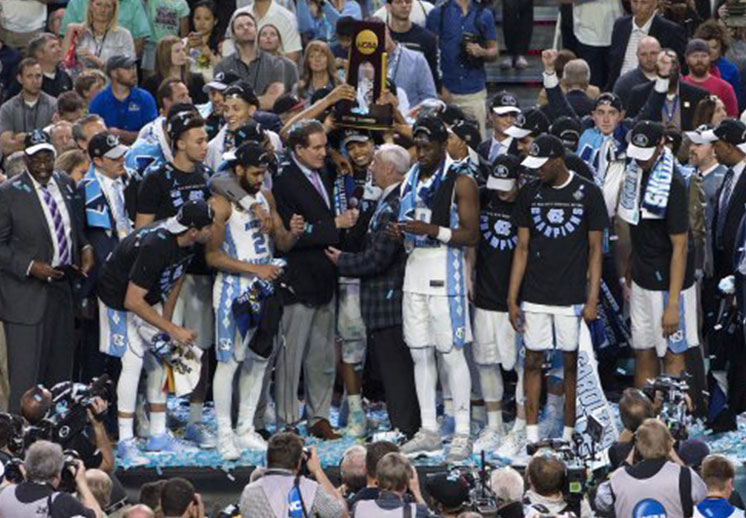 Los Tar Heels de North Carolina se llevaron el título de la NCAA