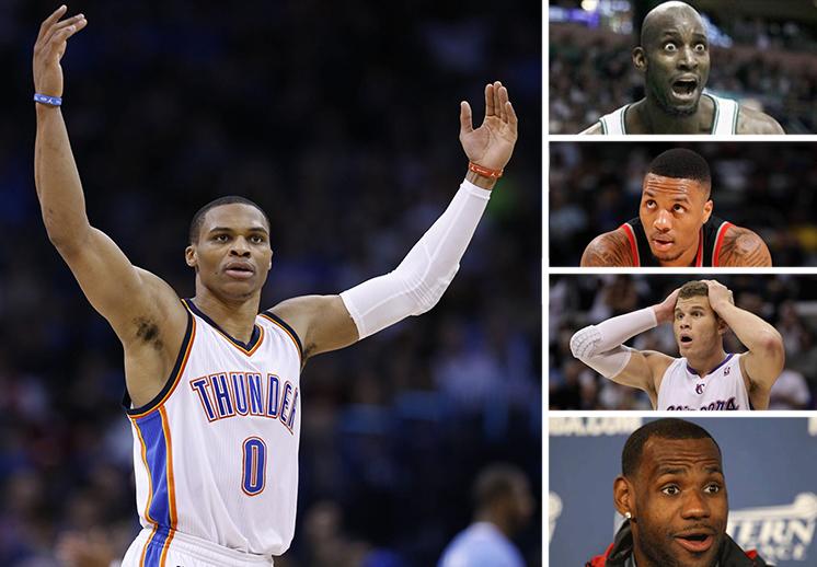 Las reacciones del récord de Russell Westbrook