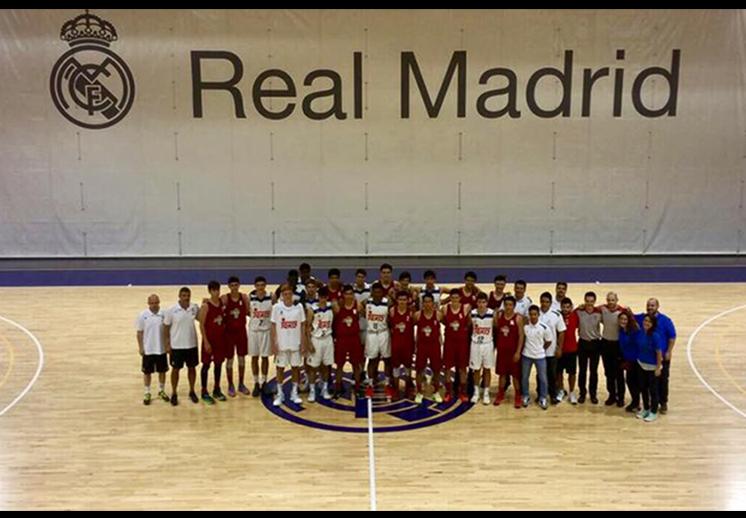 La Academia Conade enfrentó al Real Madrid