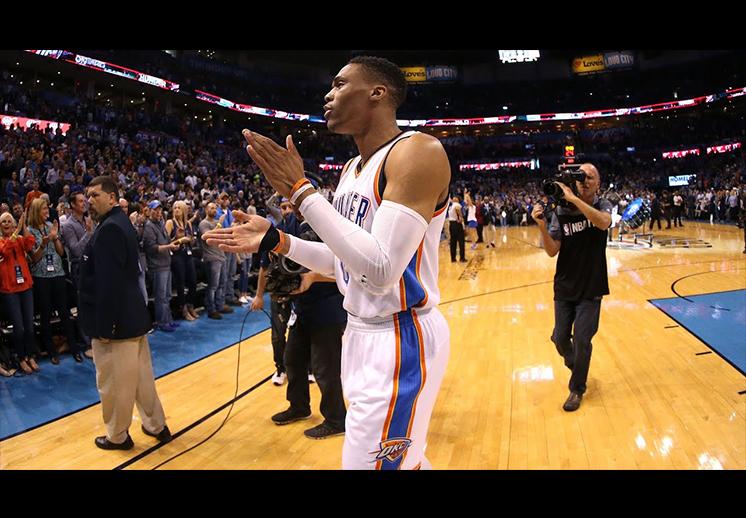 Westbrook a punto de hacer historia