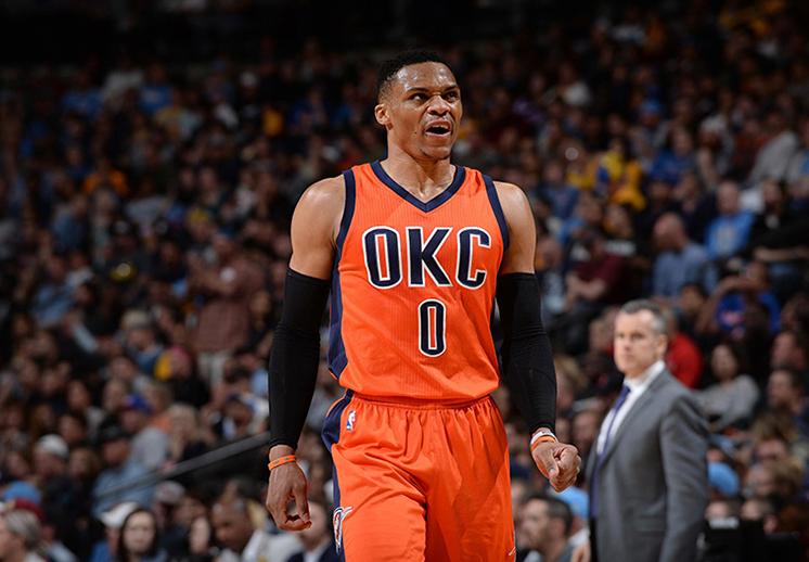 Westbrook rompió el récord de forma espectacular
