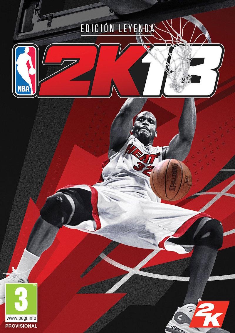 Shaq en portada del NBA2K Edición Leyenda