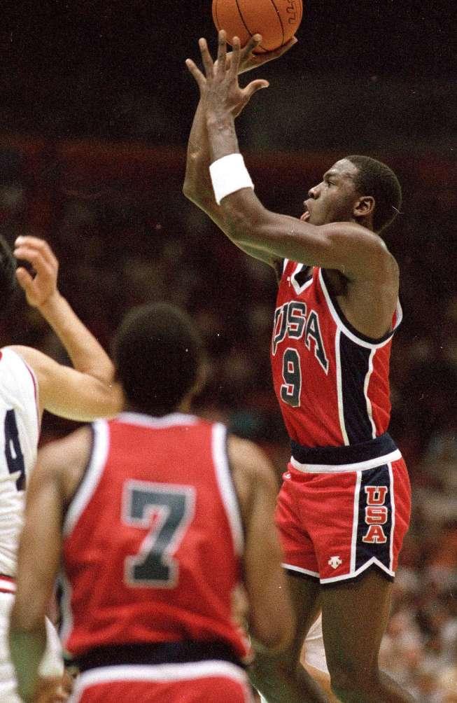 El equipo de Estados Unidos de 1984.