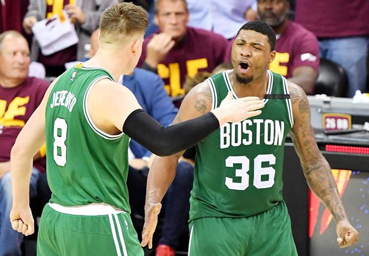 Los Celtics revivieron de las cenizas