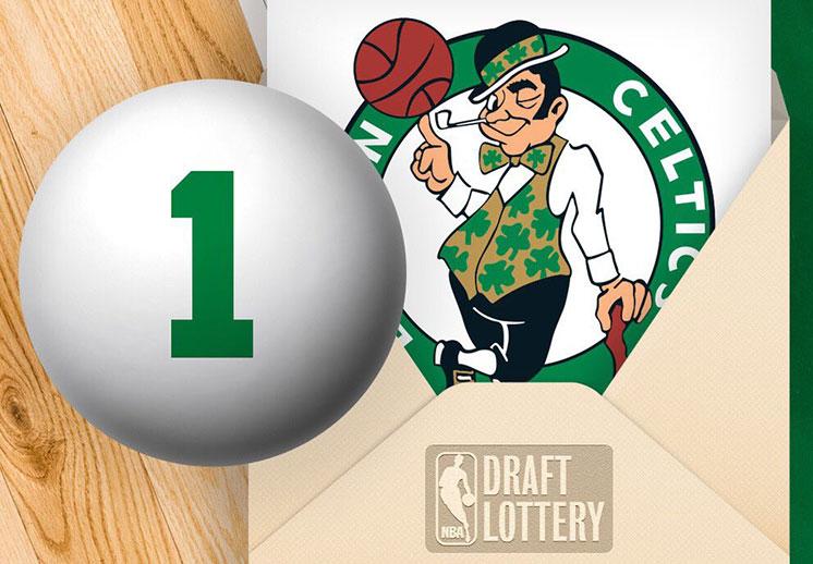 Los Celtics serán los primeros en elegir en el próximo Draft