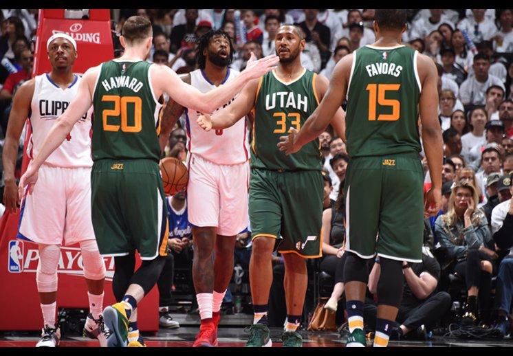 El Jazz de Utah eliminó a los Clippers