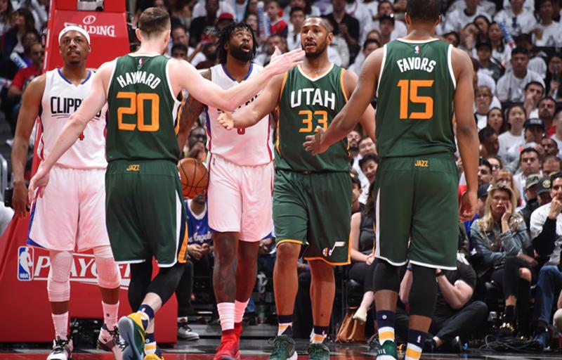 El Jazz de Utah eliminó a los Clippers foto 2