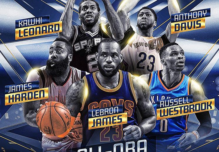 Los mejores jugadores de la temporada 2016-17 de la NBA