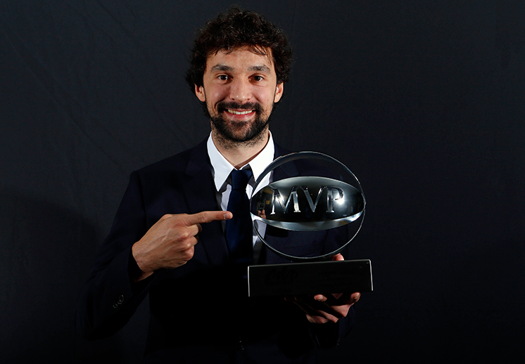 Sergio Llull el MVP de la Liga Endesa