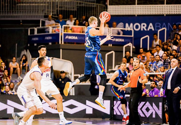 El MoraBanc Andorra pone al Real Madrid en aprietos