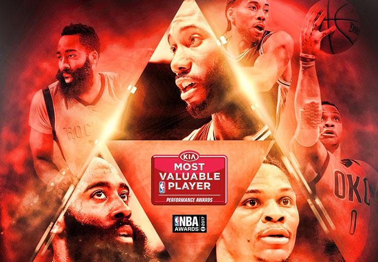 Westbrook, Harden y Leonard son los finalistas al MVPWestbrook, Harden y Leonard son los finalistas al MVP