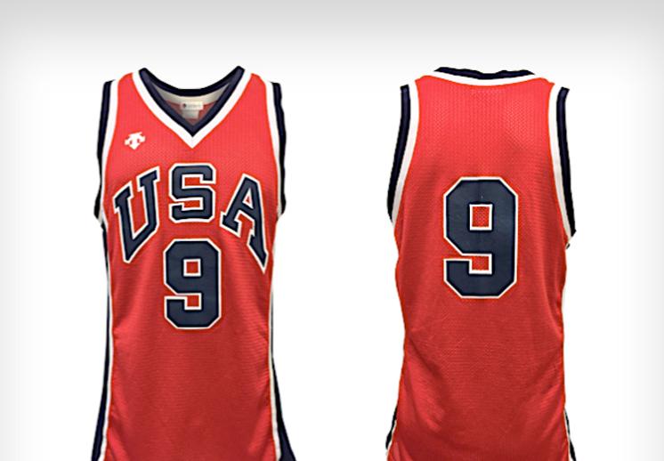 El jersey de Michael Jordan de JJ.OO del 84 será subastado