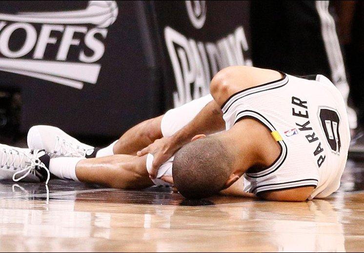 Los Spurs se quedan sin Tony Parker