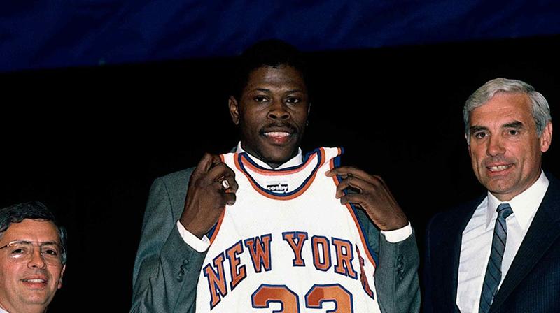 Patrick Ewing el hombre al que le faltó suerte 2