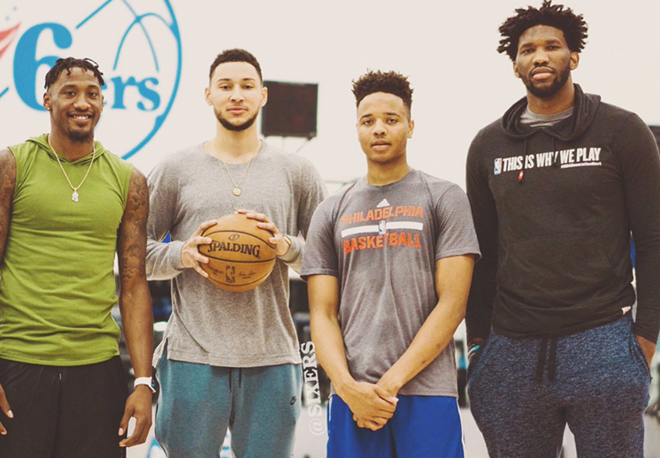 La catafixia entre 76ers y Celtics