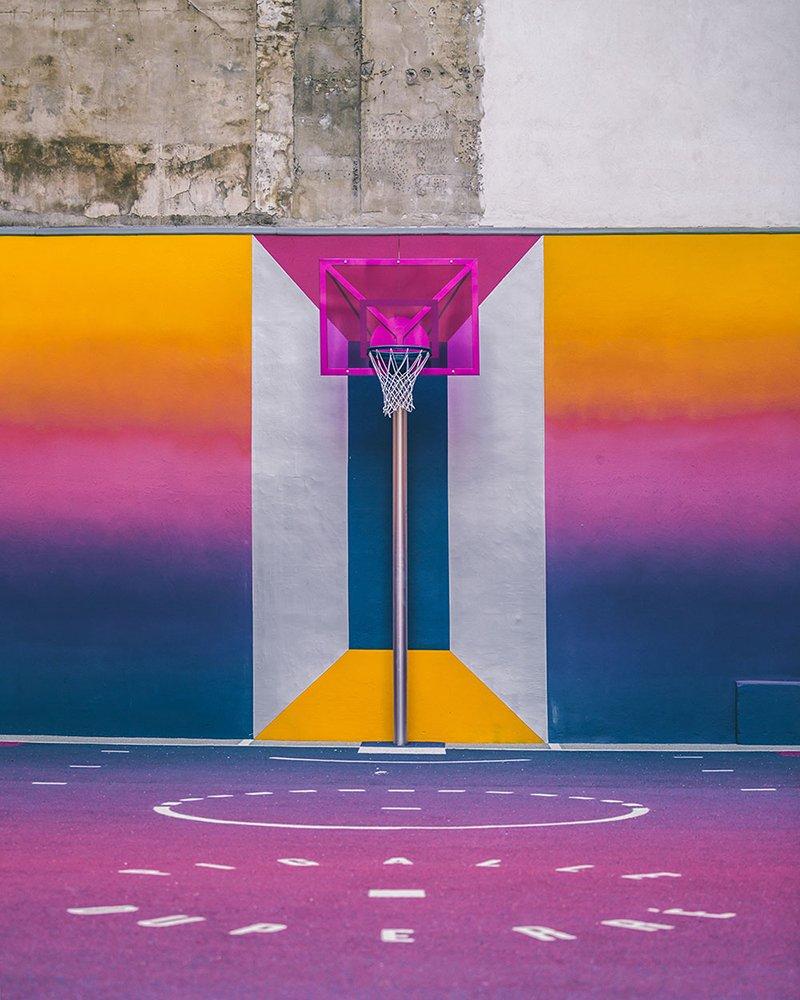 Surge una nueva cancha technicolor en Paris diseñada por Pigalle foto 9