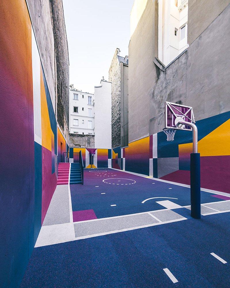 Surge una nueva cancha technicolor en Paris diseñada por Pigalle foto 7
