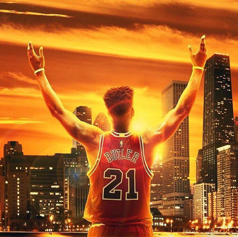 Jimmy Butler se despidió de Chicago foto 1