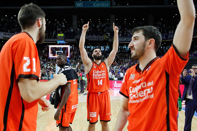 Valencia Basket empata la final de la Liga Endesa
