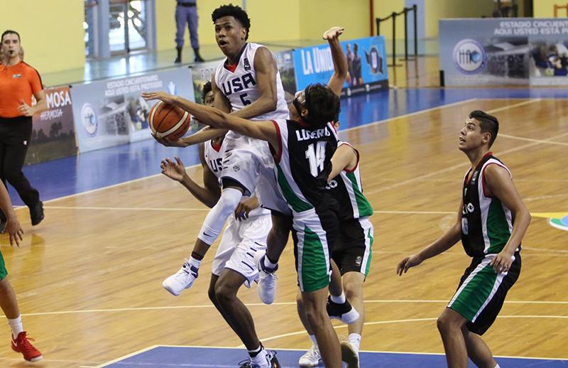 México vs USA en FIBA Américas U16