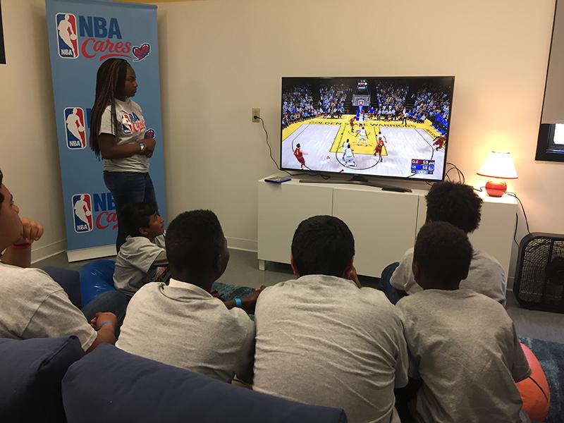 NBA Cares presente en las NBA Finals 4