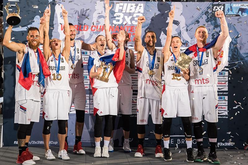 Serbia y Rusia dominan en el FIBA 3x3