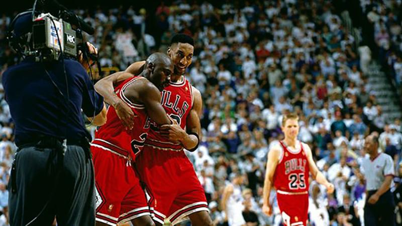 "20 años del ""Flu Game"" de Michael Jordan"