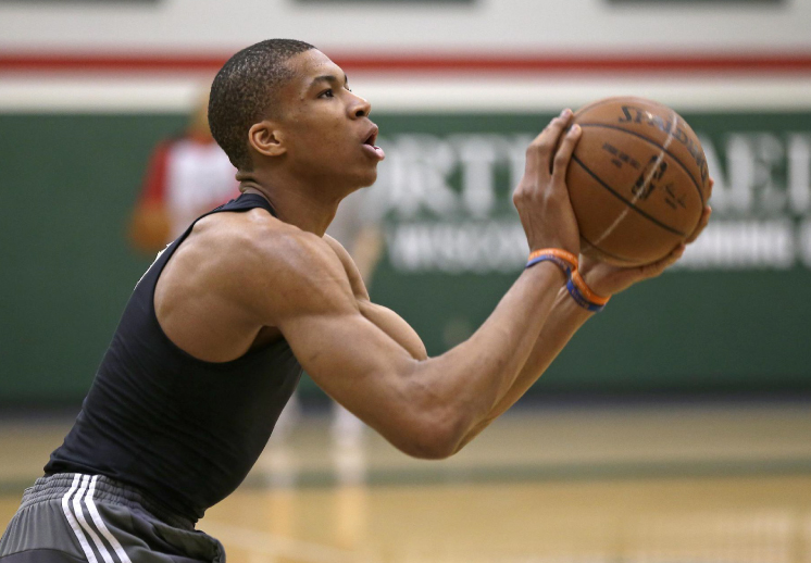 El entrenamiento de The Greek Freak