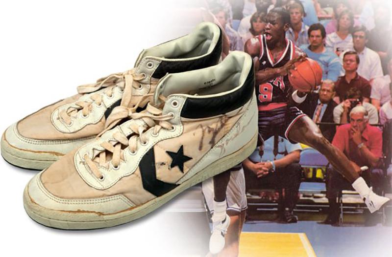 Los sneakers de Jordan se vendieron en $190 mil dólares