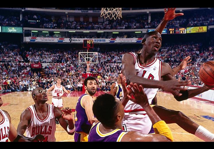 En 1991, los Chicago Bulls llegaron por primera ocasión a una final de la NBA en la era Jordan. foto 2
