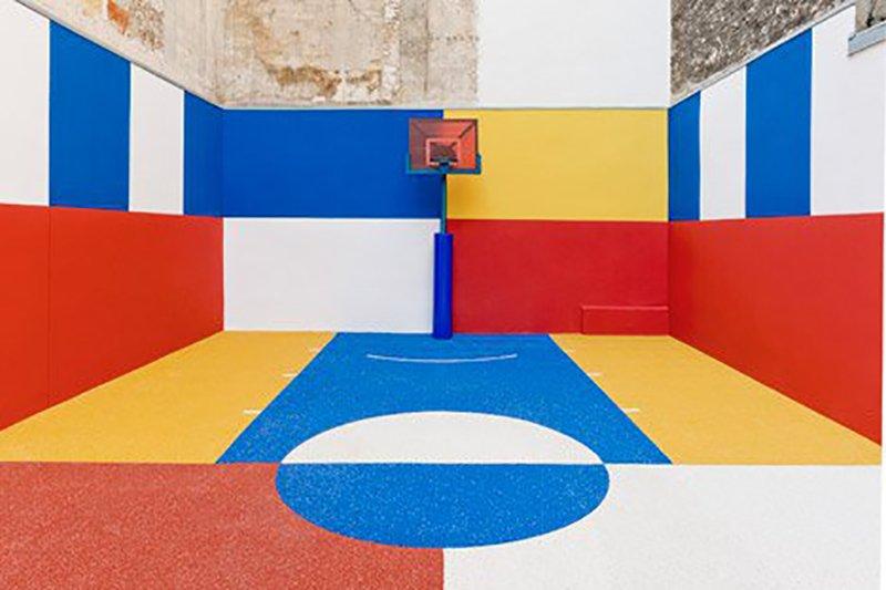 Surge una nueva cancha technicolor en Paris diseñada por Pigalle en 2015 foto 1
