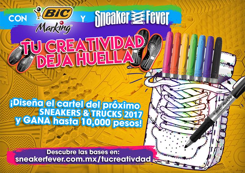 Sneaker Fever te invita a diseñar su cartel foto 2