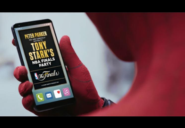 Los comerciales de Spider-Man en las Finales